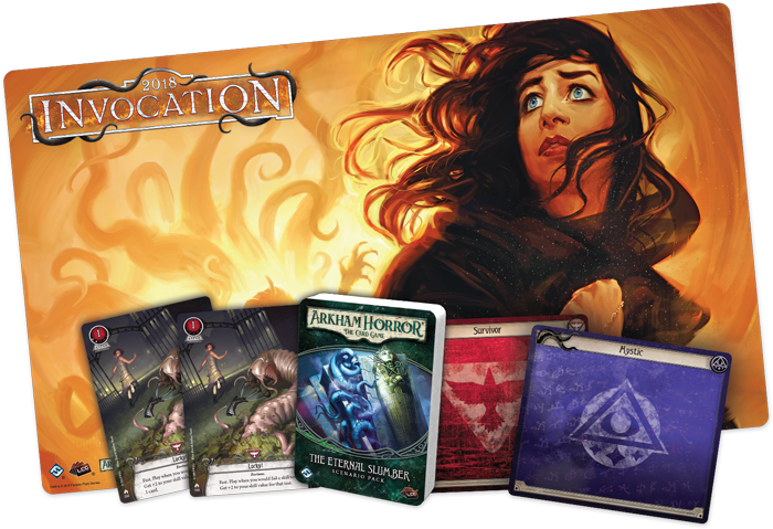 Arkham Horror LCG: 2018 Invocation Event