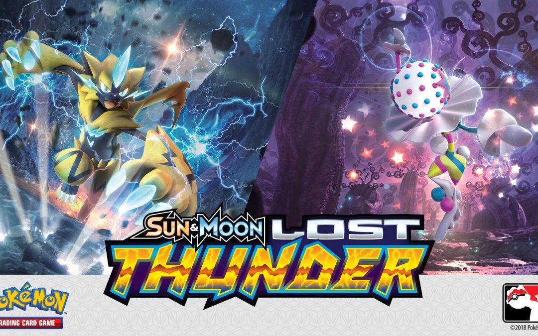 Pokemon: Lost Thunder Prerelease