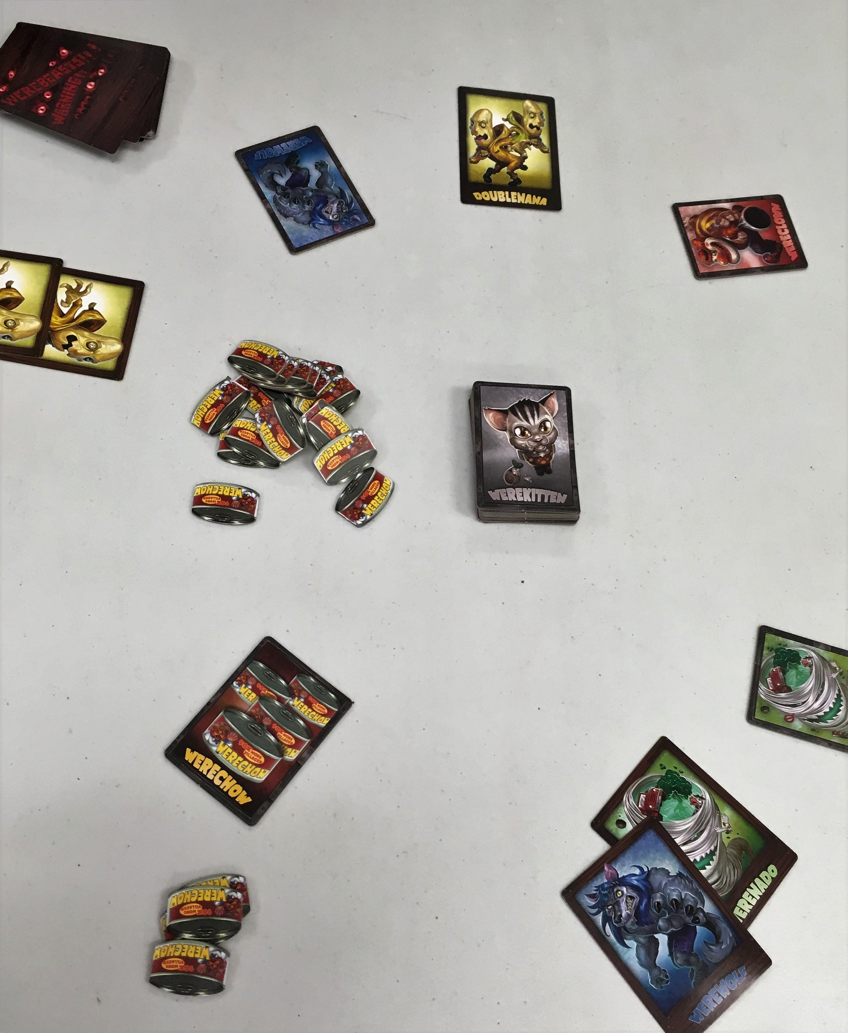 Werebeasts Card Game