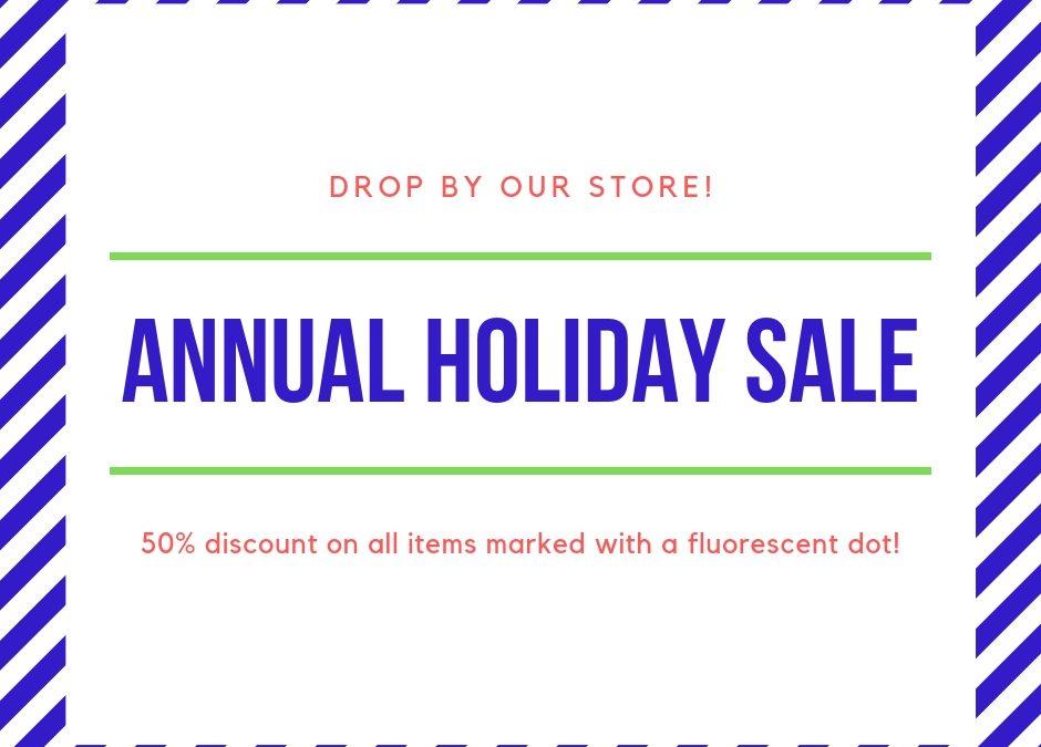 Annual Sale Update
