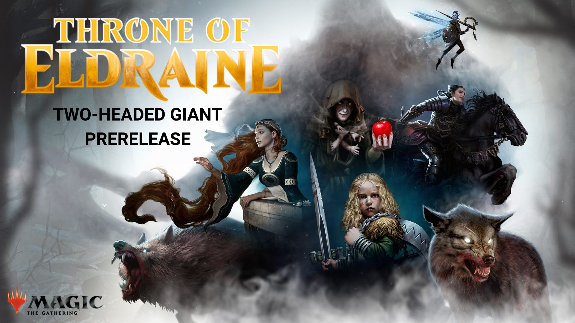 Mtg Throne Of Eldraine Two Headed Giant Prerelease Boardwalk