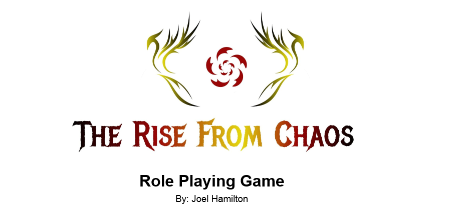 The Rise from Chaos RPG Playtest