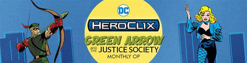 Heroclix: ROC Win-A-Map/Green Arrow Monthly OP